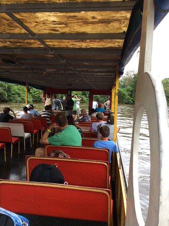 Cano Negro, Costa Rica: Enjoying the boat ride