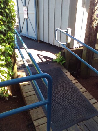 Tides Tavern: An Alternative To Stairs, This Ramp Provides An Easy Access.