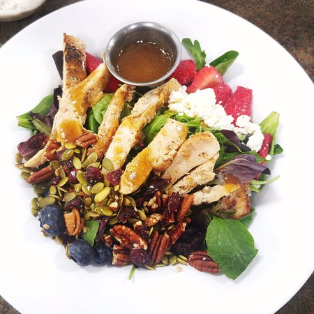 Eastland, TX: The Nutty Berry Salad