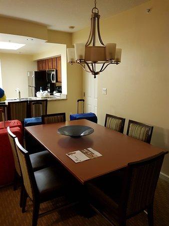 Marriottu0027s Grande Vista: Dining Table In Our Two Bedroom Villa No. 8430