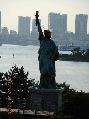 Um close. - Picture of Statue of Liberty, Minato - TripAdvisor