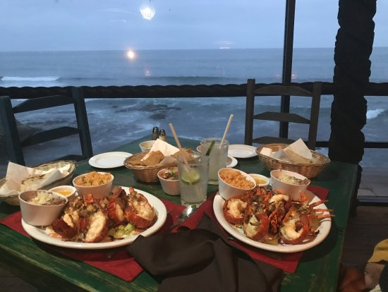 Las Rocas Resort & Spa: Love and Lobster