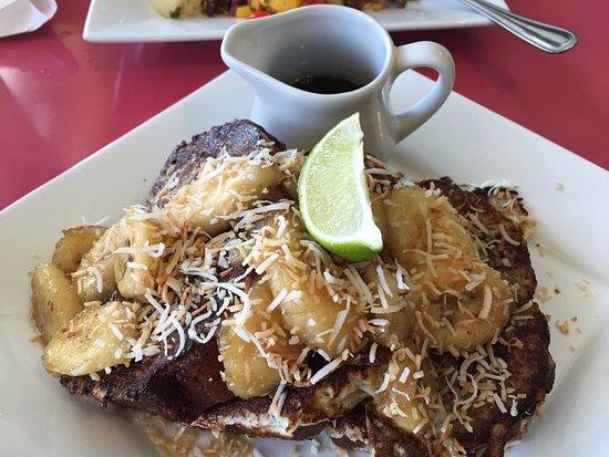 Port Elgin, Canada: banana pancake