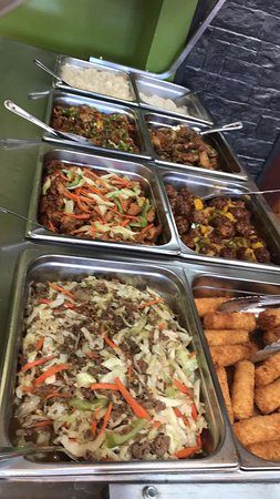 Kusina Restaurant Nipawin's Lunch Buffet!!