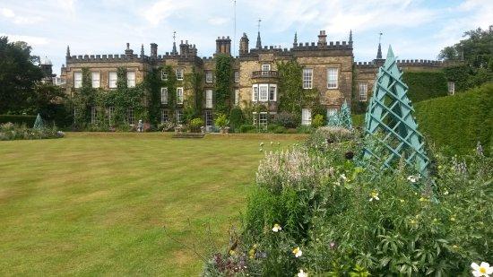 Renishaw, UK: The main front lawn