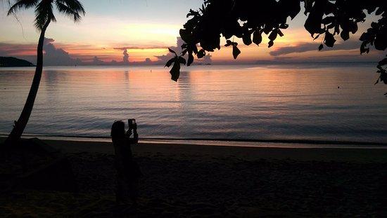 Липа-Ной, Таиланд: закат на пляже