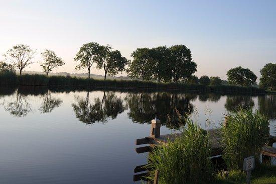 Ouderkerk aan de Amstel, Nederland: Westkant van de ronde hoep polder