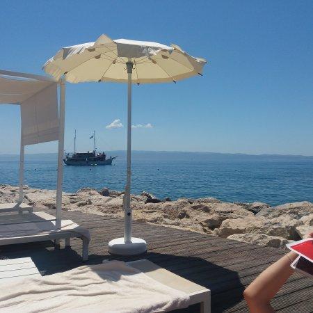 Mistral Beach Bar and Restaurant : Fantatic laid back beach bar