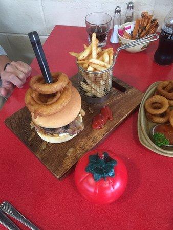 Turangi, New Zealand: Best Burger around