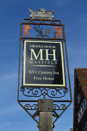 Mayfield, UK: Insegna