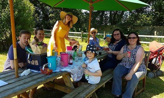 Bonvilston, UK: Family Picnic in the Gardens