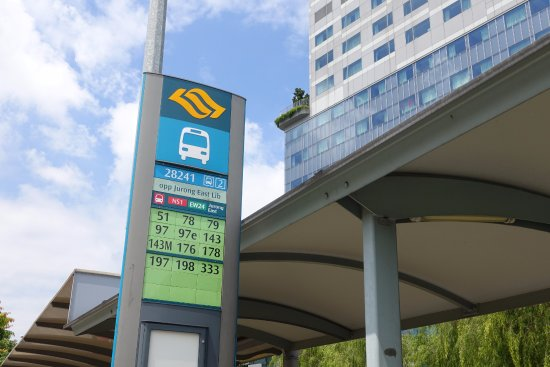 Jurong, سنغافورة: Bus stop details