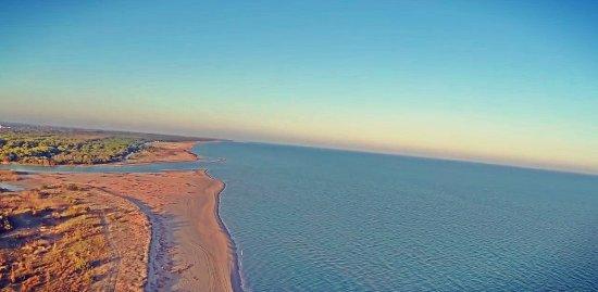 Scanzano Jonico, Ιταλία: Foto aerea mare e litorale