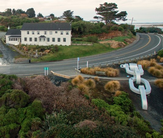 Bluff, New Zealand: Lands End at Stirling Point