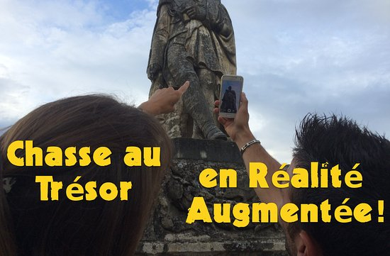 Rodez, Frankrike: Notre Chasse au Trésor en Réalité Augmentée!
