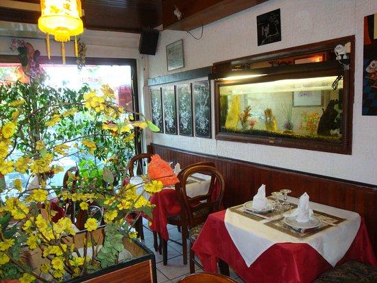 Palais des Orchidees: Salle à manger