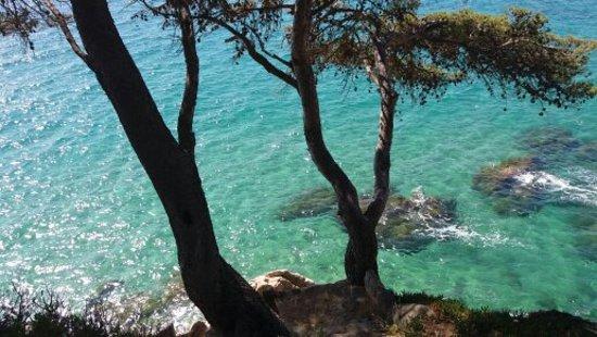 Calonge, Spain: Chemin de ronde