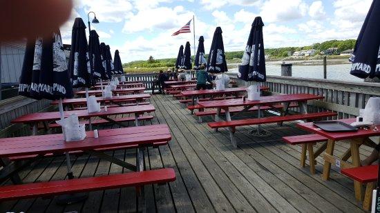 Cape Porpoise, ME: dining deck
