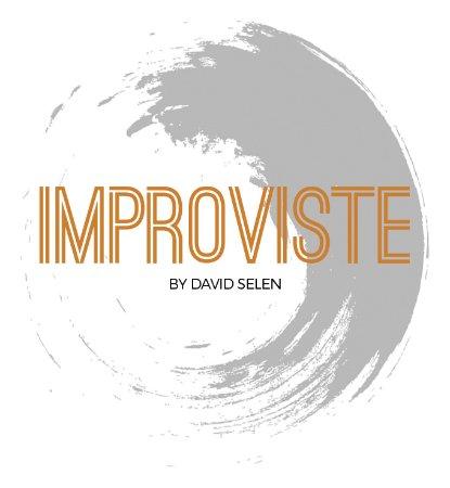Improviste by David Selen: Nouveau logo