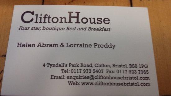 Clifton House: 20170706_143005_large.jpg