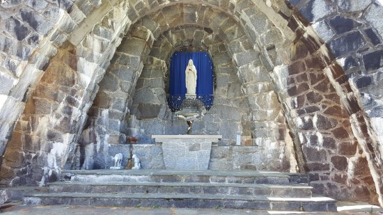 Kennebunkport, ME: Grotto of our Lady of Lourdes