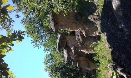 Villar San Costanzo, Italië: Riserva Naturale dei Ciciu del Villar