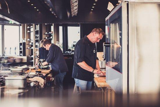 Waregem, Belgium: Cuisine ouverte