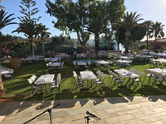 Panorama Hotel - Chania: Pre-BBQ Night