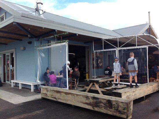 Raglan, Nova Zelândia: Outdoor area