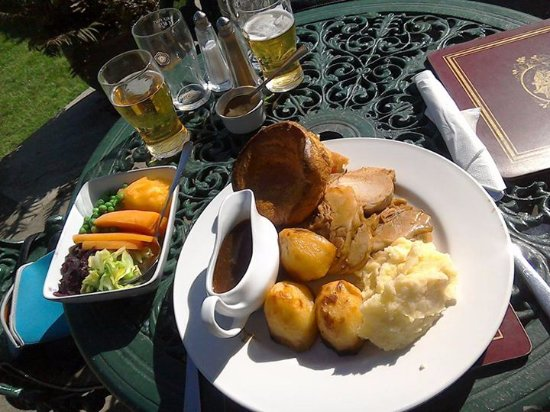 Oswaldkirk, UK : Good Sunday roast