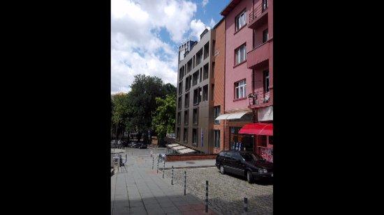 City Hotel: Facciata Hotel