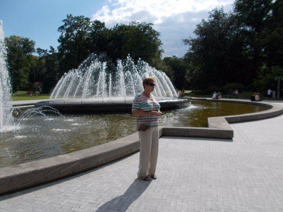 Kurpark: Fontainebecken