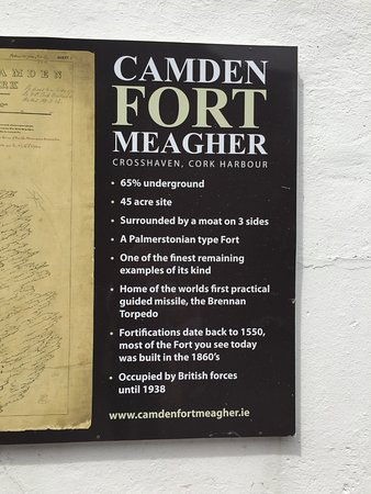 Camden Fort Meagher: Info on the fort