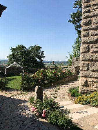 Colmberg, Germany: auf dem Rundgang