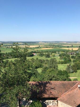 Colmberg, Alemania: Blick in die Fern