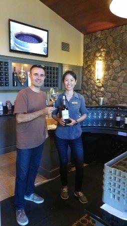 Pine Ridge Winery: Dégustation Pine Ridge