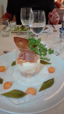 Logis Les Palis : Présentation repas