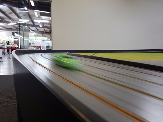 Ventnor, Australia: Slot car in action