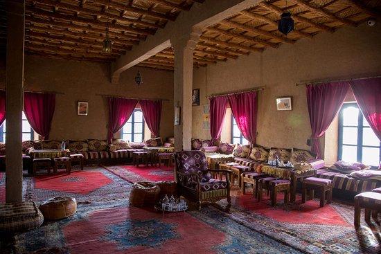 Ksar Bicha: la salle à manger intérieure