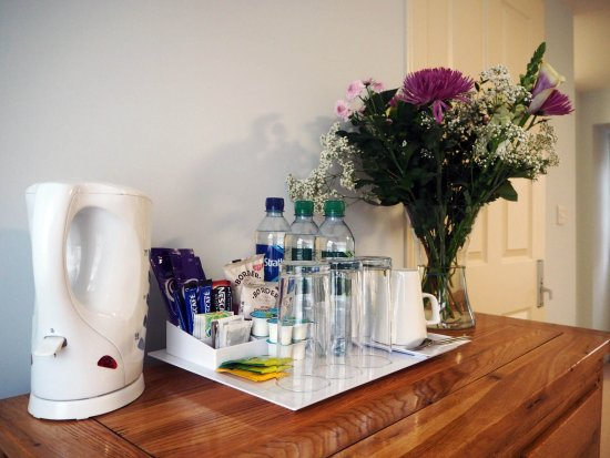 Lewiston, UK: Tea and coffee making facilities available in every room