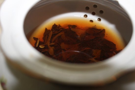 Convent Station, NJ: Tea leaves