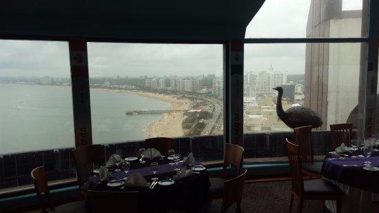 La Vista Punta Del Este: restaurante panorâmico