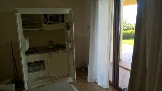 Cucina con angolo cottura - Foto di Agriturismo Il Casale Del Lago ...