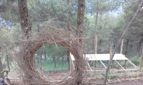 Replika Rumah Papua Picture Of Goa Pinus Batu Tripadvisor