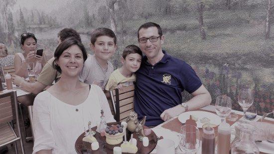 Le Chesnay, France: la famille au rendez vous enchanté