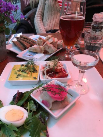 Barock: The menu includes lots of typical European food. I chose to go local and had herring 3 ways with