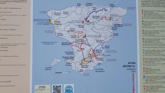 Aegina Tourist Information Map Picture of Aegina Waterfront