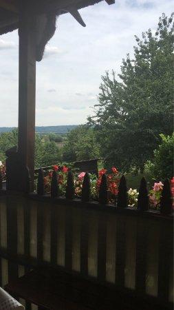 Haute-Normandie, Frankrike: Vue de la terrasse