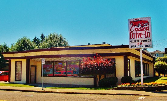 Cruiser S Drive In The Building On Corner Se 136th And Divsion