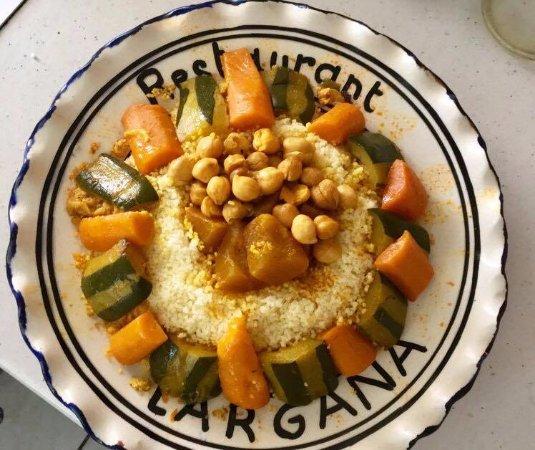 Revel, França: couscous à la marocaine humm